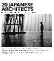 20 Japanese Architects